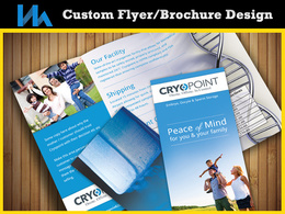 Can design an awesome high quality flyer or brochure