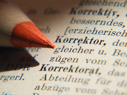 Edit and proofread german (all text types) - 10.000 words