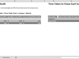 Fix or update your Excel spreadsheet in one hour