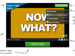 Customize your video so you can get sales and leads directly from it