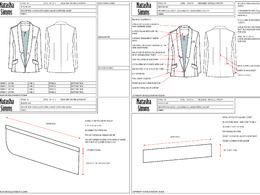 Create a technical fashion CAD drawing from your photo or sketch