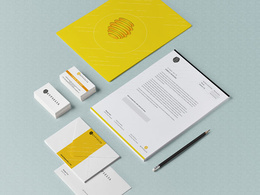 Design your Corporate id Business card, Letter Head with unlimited revisions