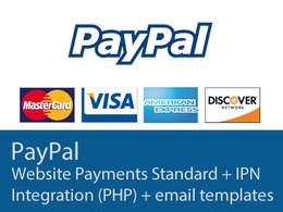 Integrate paypal with IPN and email confirmation