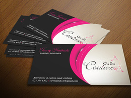 Design you a double sided business card