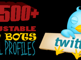 Add 2500 Worldwide Twitter Followers to increase you SEO and Popularity