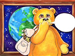 Make you a star in a personalised book with bear