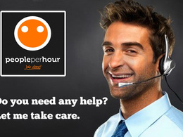 Assist you for 1 hr with customer support,technical support,virtual assistant