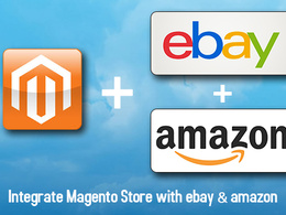 Integrate Magento store with ebay and amazon (m2e pro)