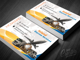 Design your double sided creative, print ready business card with 2 concepts
