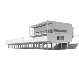 Draw 3d model in Sketchup or Rhinoceros of your building