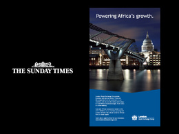 Design a professional print ad for any press outlet (global)