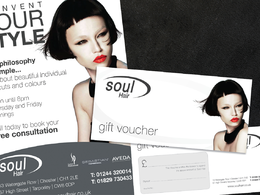 Design your double sided A5 leaflet