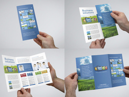Design creative brochure with 2 concepts and unlimited revisions