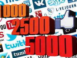 Add 5,000 (or others) genuine Facebook likes to increase your SEO and popularity