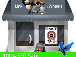 Setup a powerful SEO safe link wheel to improve search rankings for your website