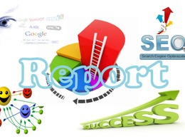 Write an SEO report and action plan to help improve your social media sales & traffic
