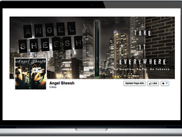 Setup and design, an Amazing facebook and Twitter page, with 2000 facebook likes