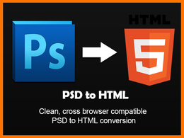 Convert a PSD to clean, valid HTML5 and CSS3 (PSD to HTML)