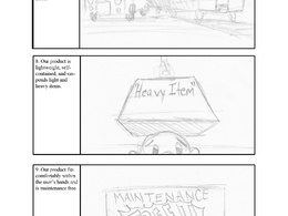 Write a script for a video of up to 300 words plus draw a 10 panel storyboard for it