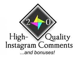 Manually leave 20 relevant Instagram comments