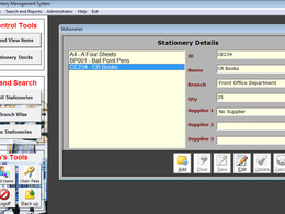 Design an inventory management system for your business