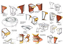 Provide concept design hand sketching of your idea/product