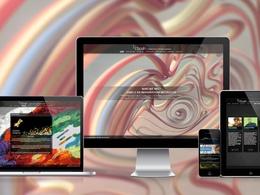 Develop & design stunning WordPress website