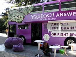 Answer 10 yahoo answers promoting your website with level 2 or higher profile