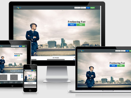 Convert PSD to HTML5 (HTML5 / CSS3 ) responsive with Bootstrap