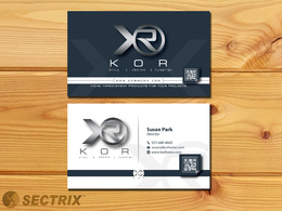 Design a Professional Business Card with Unlimited Revision
