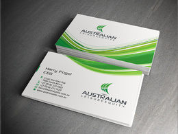 Design you a professional double side business card