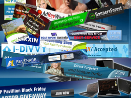 Make 2 stunning static or animated banners for your business