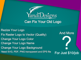 Fix your old logo problem fast