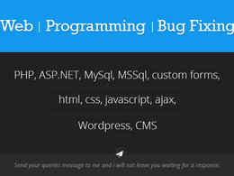 Provide coding in php, javascript, html, mysql