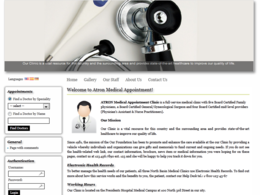Build medical / doctors appointment web application
