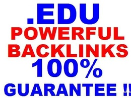Create 1050 EDU Backlink From Different Domain With Permanent Wiki Link