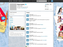 Best design a professional twitter web page