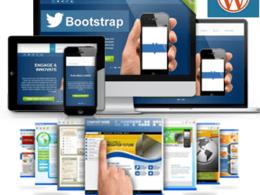 Customize a pro responsive WordPress theme according to your needs