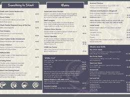 Design your menu