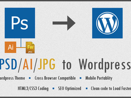 Convert your psd to responsive wordpress template