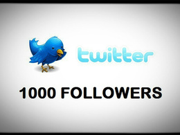 Supply 1000+ Genuine USA based Twitter followers to your Twitter accounts