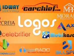 Design you an immaculate logo with unique eye catching concepts & unlimited revisions
