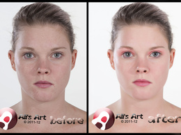 Retouch any portrait picture