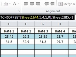 Provide you with the Excel formula you require