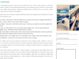 Write engaging website content with SEO optimised copy