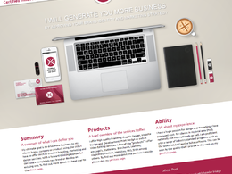Create a Wordpress website, with custom design for your small business