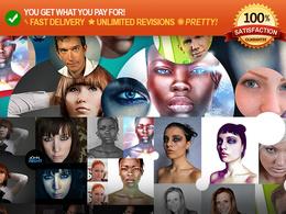 Professionally retouch / enhance any photo / image with photoshop