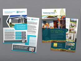 Design a bespoke double sided flyer