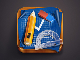 Design 3D icon for your App