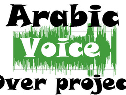 Provide Arabic voice over to your project up to 50 W